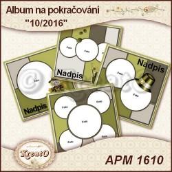 Album na pokračování 15x15cm - 10/2016