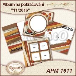 Album na pokračování 15x15cm - 11/2016