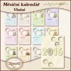 """Měsíční kalendář 2017 - """"Ban"""""""