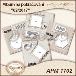 Album na pokračování 15x15cm - 01/2017