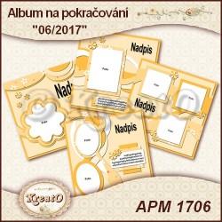Album na pokračování 15x15cm - 05/2017